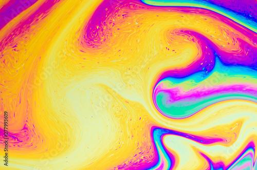Fototapeta  Abstract soap bubble structure