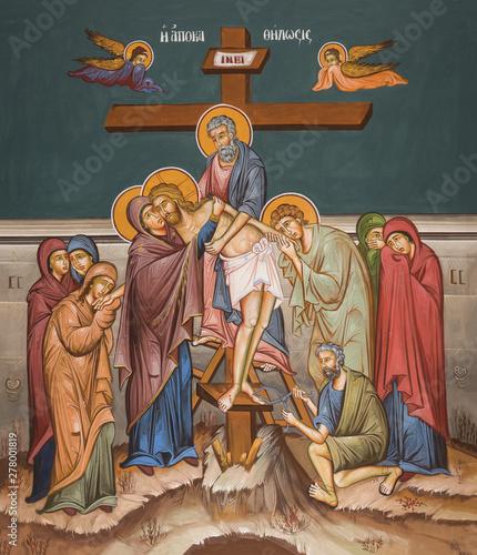 Fotografia Deposition of body of Christ from cross