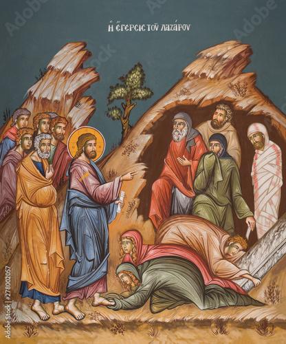 Photo Raising of Lazarus