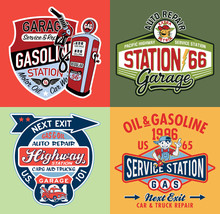 Kid Gasoline Service Station C...