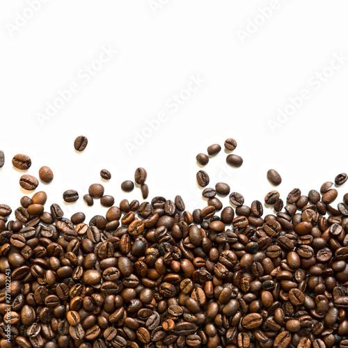 Poster Café en grains Kaffeebohnen