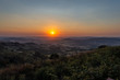 Wonderful Summer Sunset, Mazzarino, Caltanissetta, Sicily, Italy, Europe