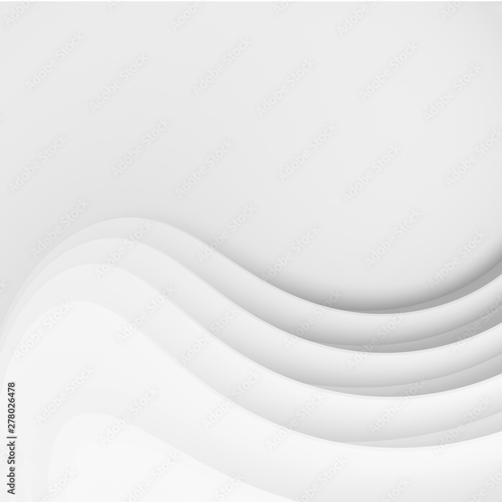Fototapeta Abstract Modern Background. Minimal Wave Design