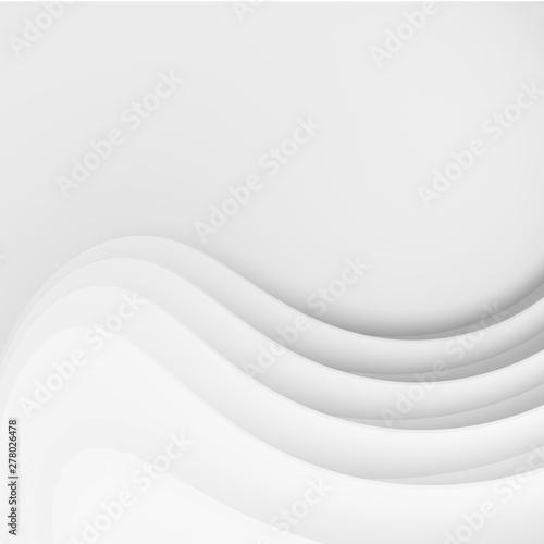 Fotografie, Obraz  Abstract Modern Background. Minimal Wave Design