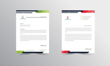 Abtract Letterhead Design Mode...