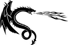 Dragon Breathe Fire Side View