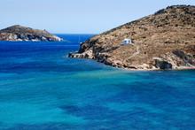 Beautiful Sea At The Beach At Patmos Island In Greece