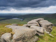 Overlooking Kinder Reservoir W...