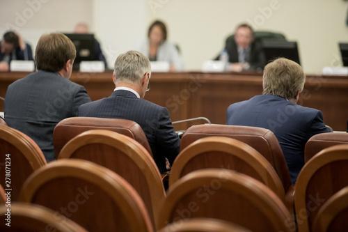 Obraz na płótnie Session of Government