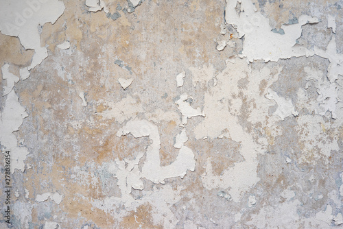 Texture of old concrete wall for background - 278086854