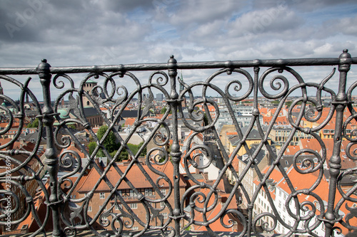 Photo View from Round Tower, Copenhagen