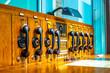 canvas print picture - Historische Telekommunikationsanlage