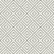 Scandinavian pattern. Vector geometric traditional monochrome seamless ornament