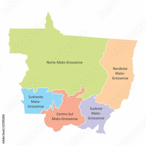 Fotografija  Mato Grosso State regions