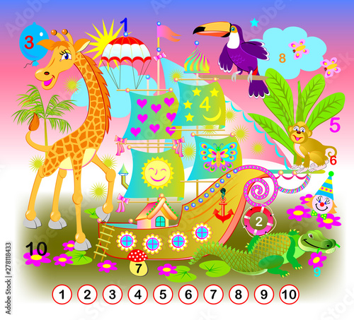 photograph relating to Printable Hidden Picture Game named Health and fitness for youthful young children. Will need in the direction of locate the figures versus 1