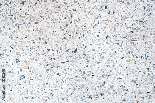 Photo  Terrazzo polished stone floor and wall pattern and colour surface marble and granite stone, material for decoration background texture