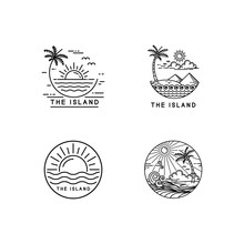 Tropical Island Logo