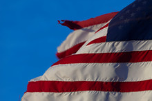 Detail Of Frayed Old Flag Of T...