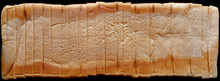 Sliced Bread Isolated On Black Background