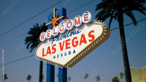 Las Vegas Sign. Daytime