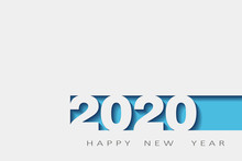 2020 Happy New Year, Year Of T...