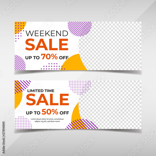 Tela  Sale banner collection