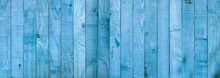 Blue Wood Texture Background Coming From Natural Tree. Wooden Panel With Beautiful Patterns. Space For Work