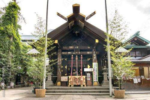 Fényképezés 築地波除神社
