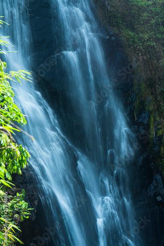 Staande foto Watervallen The Klongphrao waterfall in Chumphon province, Thailand