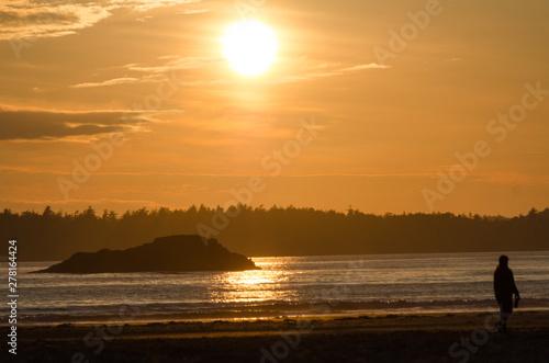 Sunset at Chesterman beach