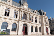 Town City Hall Hotel De Ville In Poitiers France