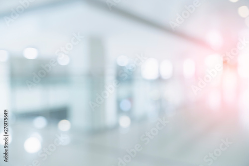 Fotografering blur image background of corridor in hospital or clinic image