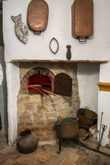 An old medieval oven in a Spanish village
