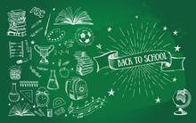 Back To School Doodle Set. Han...