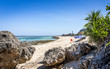 Leinwandbild Motiv Beautiful Pandawa beach, Bali