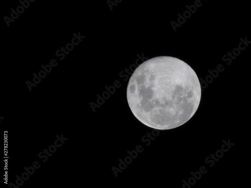 Poster Pleine lune Luna otoñal