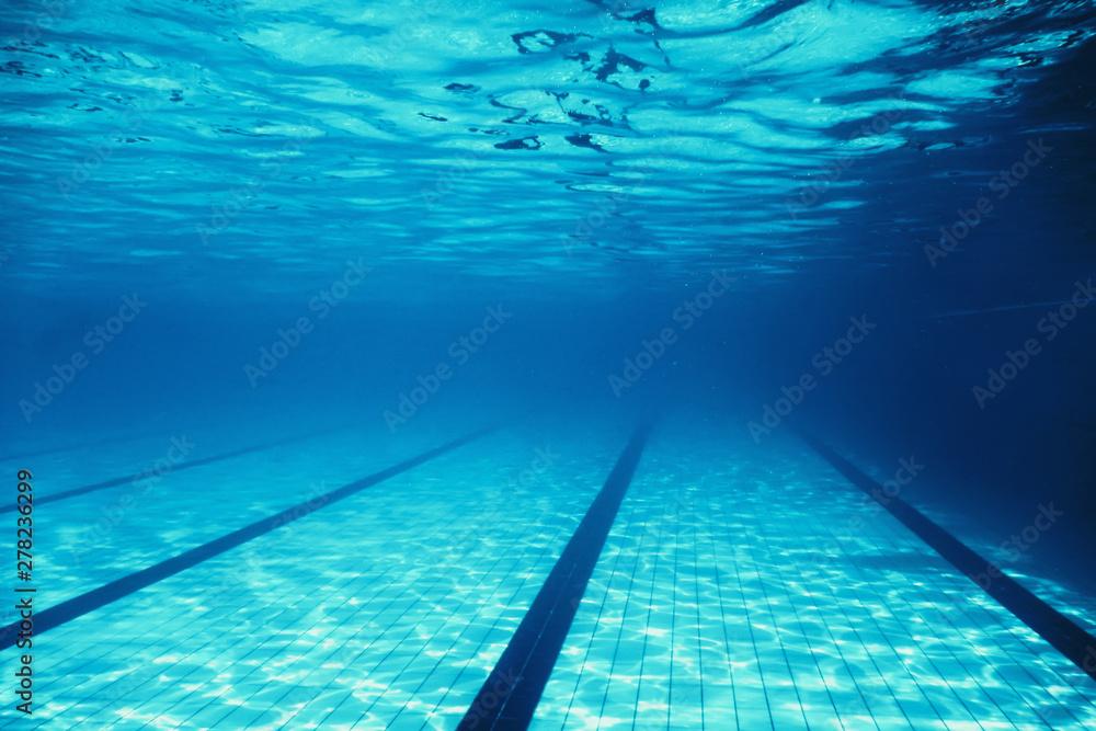 Fototapety, obrazy: Underwater Empty Swimming Pool