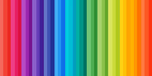 Rainbow Strip Pattern. Colorfu...