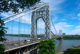 View of the George Washington Bridge taken from Fort Lee Historic Park -C