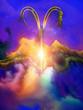 canvas print picture - Colors of Zodiac