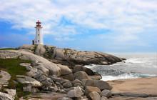 Peggy's Cove In Nova Scotia, Canada