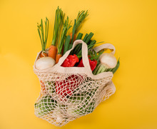 Fresh Vegetables In Bio Eco Co...