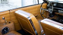 Classic Car Interior - Brown L...