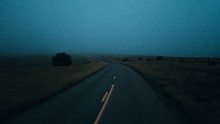 Traveling Marfa TX - Foggy Cat...