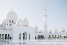 Grand Sheikh Zayed Mosque In Abu Dhabi