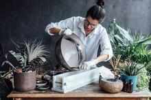 Homemade Soap Making Process