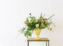 Wild Arrangement Of Spring Flowers