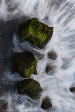 Rocks In The Ocean.