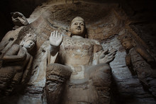 The Yungang Grottoes, Shanxi,C...
