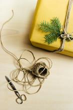 Christmas Present Twine And Pa...